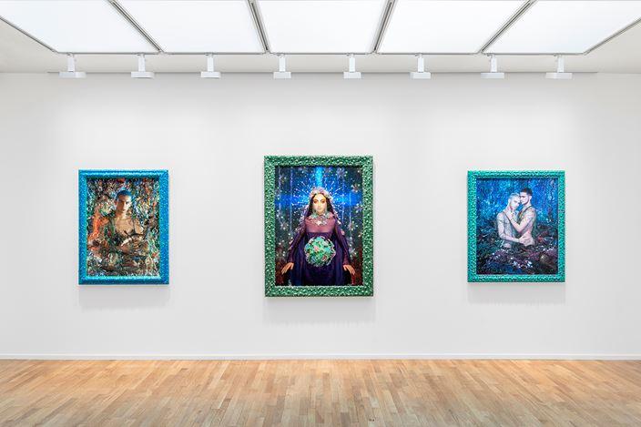 Exhibition view: Pierre et Gilles,Errances immobiles, Templon, 30 rue Beaubourg, Paris (10 September–31 October 2020).Courtesy Templon, Paris – Brussels.