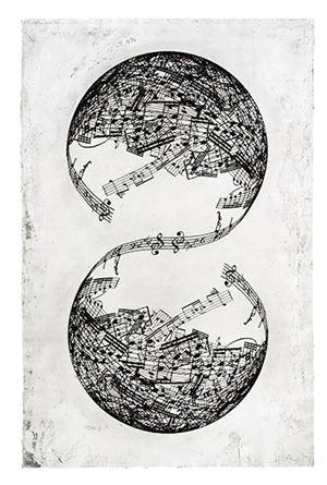 Symétrie by Jaume Plensa contemporary artwork