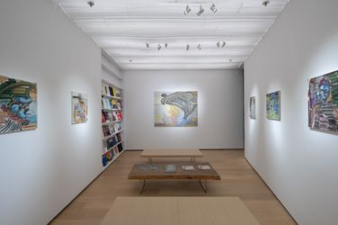 Exhibition view: Etsu Egami, Ichigo Ichie, Whitestone Gallery, Hong Kong (5–24 August 2021). Courtesy Whitestone Gallery.