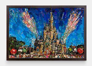 Postcards from Nowhere: Magic Kingdom by Vik Muniz contemporary artwork