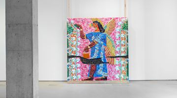Contemporary art exhibition, Michael Rakowitz, The invisible enemy should not exist (Room F, section 1, Northwest Palace of Nimrud) at Jane Lombard Gallery, New York