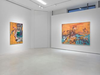 Exhibition view:Maki Na Kamura,Solo Exhibition, SETAREH, Düsseldorf (22 October–4 December 2021). Courtesy SETAREH.
