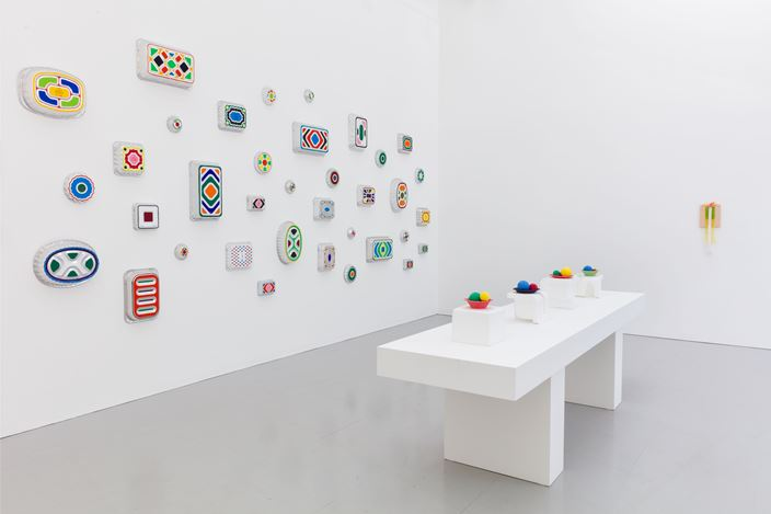 Exhibition view: B. Wurtz, Kate MacGarry, London (31 May–13 July 2019). Courtesy Kate MacGarry.