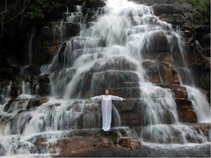 Places of Power, Waterfall by Marina Abramović contemporary artwork