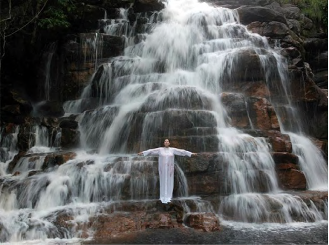 Places of Power, Waterfall by Marina Abramović contemporary artwork