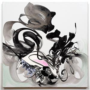 Spiraling by Shinique Smith contemporary artwork