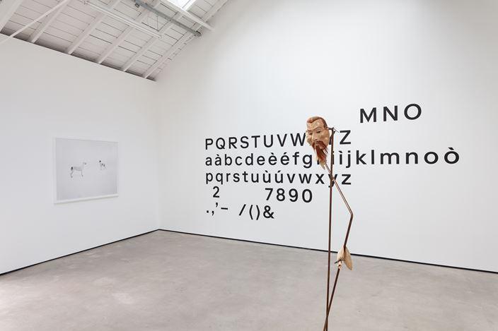 Exhibition view: Simon Starling,A-A', B-B', The Modern Institute, Osborne Street, Glasgow (7 September–9 November 2019). Courtesy The Artist and The Modern Institute/Toby Webster Ltd, Glasgow. Photo: Patrick Jameson.