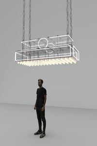 Marquee by Philippe Parreno contemporary artwork mixed media
