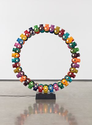 Open Circle by Evan Holloway contemporary artwork