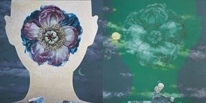 心識系列 [花] Floating Mind series [Flower] by Kuo Chwen contemporary artwork