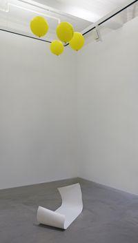Walking Balloon by Tant Yunshu Zhong contemporary artwork sculpture, mixed media