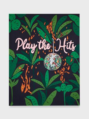 Untitled (Play the Hits) by Joel Mesler contemporary artwork