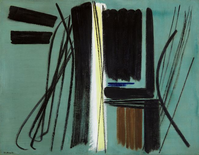 T1952-45 by Hans Hartung contemporary artwork