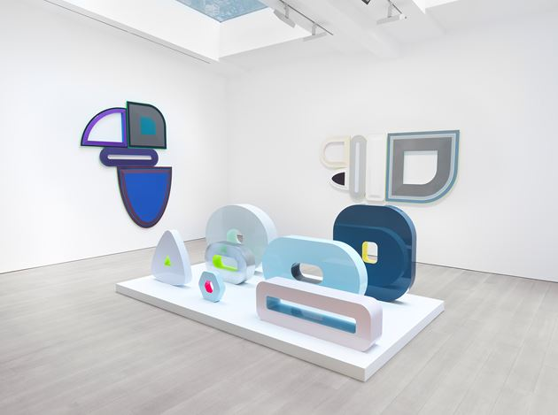 Exhibition view: Beverly Fishman, I Dream of Sleep, Miles McEbery Gallery, 525 West 22nd Street, New York (10 September–10 October 2020). Courtesy Miles McEnery Gallery.