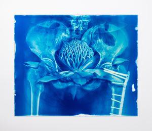 Blood Blue No.10 by Hu Weiyi contemporary artwork