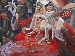 Archibald winner Ben Quilty critiques Santa and straight white men at Sydney Contemporary art fair