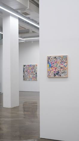 Exhibition View: Woo Tae Kyung,Painting of Drawings, Gallery Chosun, Seoul (29 July–20 August 2020). Courtesy Gallery Chosun.