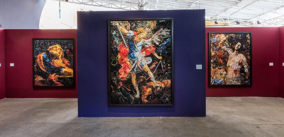 Exhibition view: Vik Muniz, Imaginária, Casa Santa Ignez, Rio de Janeiro (30 November–20 December 2018). Courtesy the artist and Galeria Nara Roesler. Photo: © Pat Kilgore.
