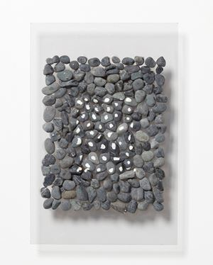 Gathered and Scattered Stones by Kishio Suga contemporary artwork