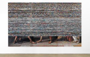 Language Series 5 by Rashid Rana contemporary artwork