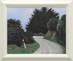 Limestone Road Kawhia by Dick Frizzell contemporary artwork