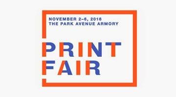 Contemporary art exhibition, IFPDA Print Fair 2016 at Paragon, London
