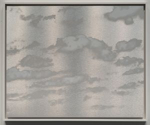Kumo (Cloud) January 7 2021 3:26 PM NYC by Miya Ando contemporary artwork painting, works on paper, sculpture, drawing