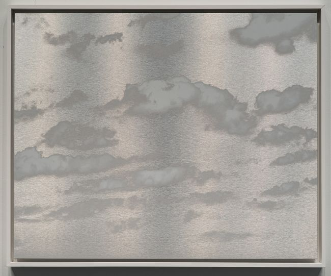 Kumo (Cloud) January 7 2021 3:26 PM NYC by Miya Ando contemporary artwork