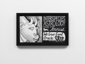 Interspecies Astrology by Mary Reid Kelley contemporary artwork