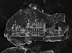 Sandcastle #01 (Château de Chambord) by Vik Muniz contemporary artwork