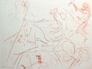 Apocalyptic Rider by Salvador Dalí contemporary artwork