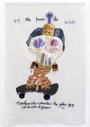 The Pancake King by Charrette van Eekelen contemporary artwork painting, works on paper, photography, print