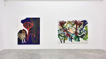 Contemporary art exhibition, Karel Appel, Figures et Paysages at Almine Rech, Rue de Turenne, Paris, France