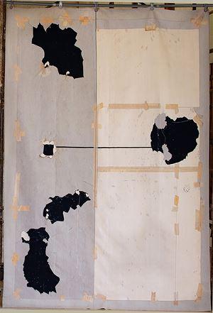 Tejido Corte IV by Javier Marín contemporary artwork