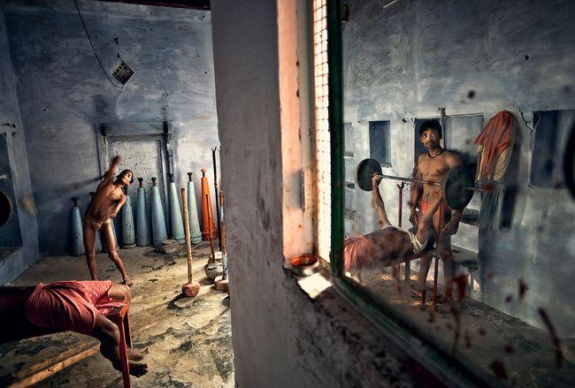 Varanasi, India by Matjaz Krivic contemporary artwork