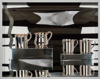 Stirling Silver Cups by Elad Lassry contemporary artwork print