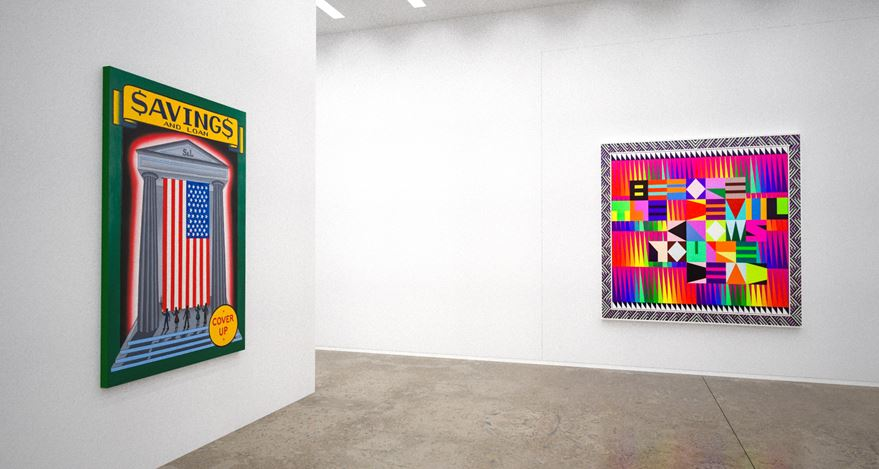 Installation rendering: Kavi Gupta,Art Basel OVR: Miami Beach (2–6 December 2020). Courtesy Kavi Gupta.