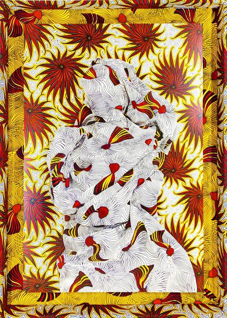 Cosmic Vibrations by Alia Ali contemporary artwork
