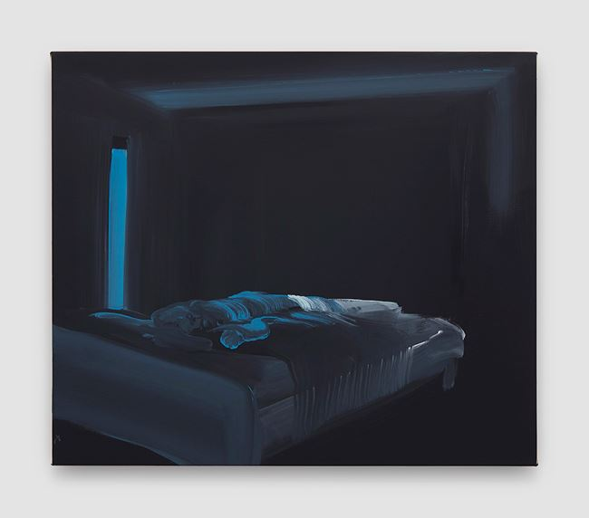 The Sleeper by Tala Madani contemporary artwork
