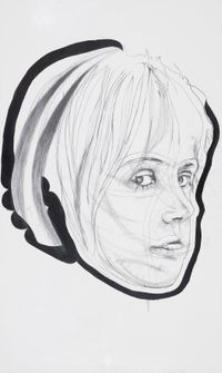 What WEHEAR nosound by Franz Graf contemporary artwork drawing
