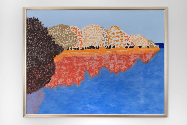 Fall Reservoir by March Avery contemporary artwork