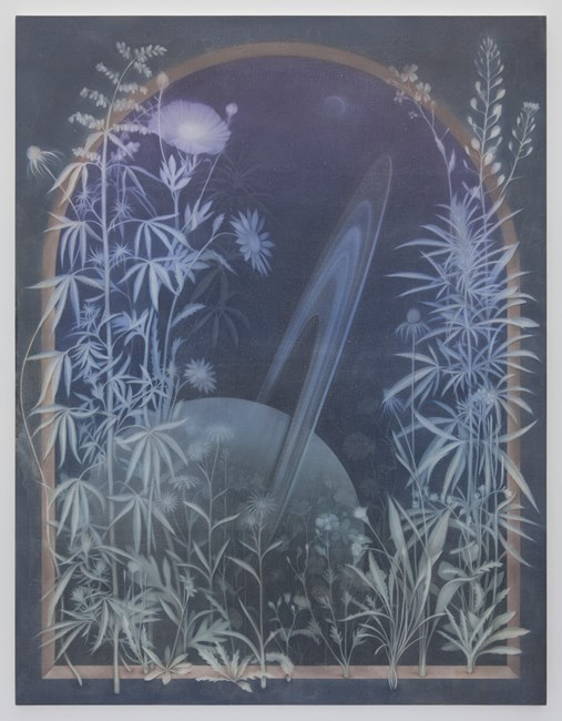 The Cosmic Garden I by Theodora Allen contemporary artwork