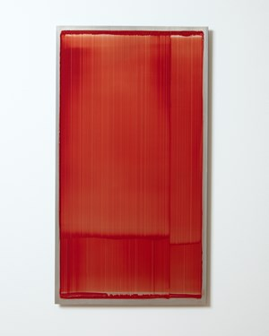 Slider - red #2 by Noel Ivanoff contemporary artwork
