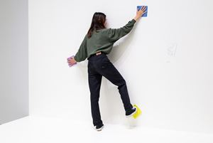 Theory of Painting 繪畫理論 by Erwin Wurm contemporary artwork sculpture, performance