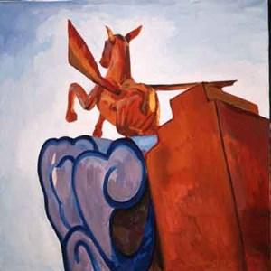 Pegasus by Liu Weijian contemporary artwork