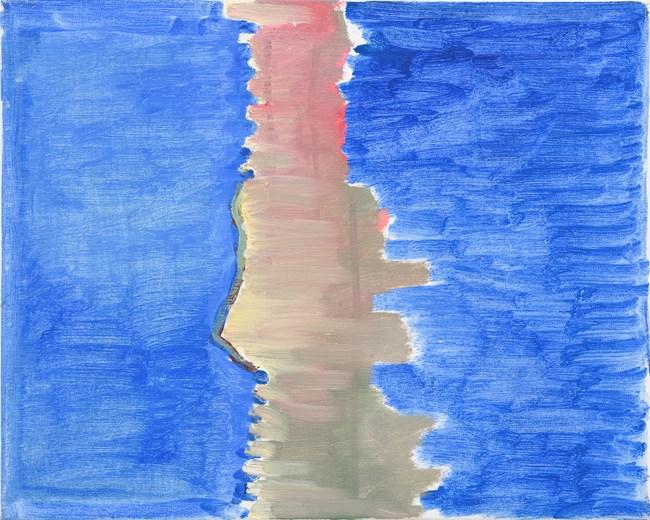 No by Raoul De Keyser contemporary artwork