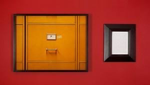 Tableaux dérobés : Lucian Freud, Portrait de Francis Bacon / Purloined : Lucian Freud, Francis Bacon's Portrait by Sophie Calle contemporary artwork