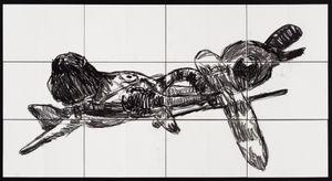 Flying Elephant by Pierre Mukeba contemporary artwork