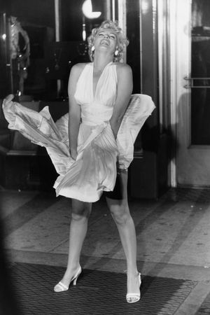 """Marilyn Monroe, """"Seven Year Itch"""" Set, New York by Garry Winogrand contemporary artwork"""