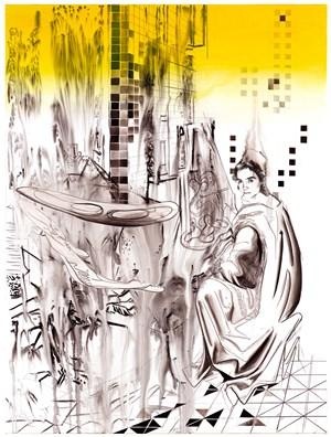 Picture-making dissolves by Susanne Kühn contemporary artwork